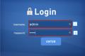 Accesso al sistema: login