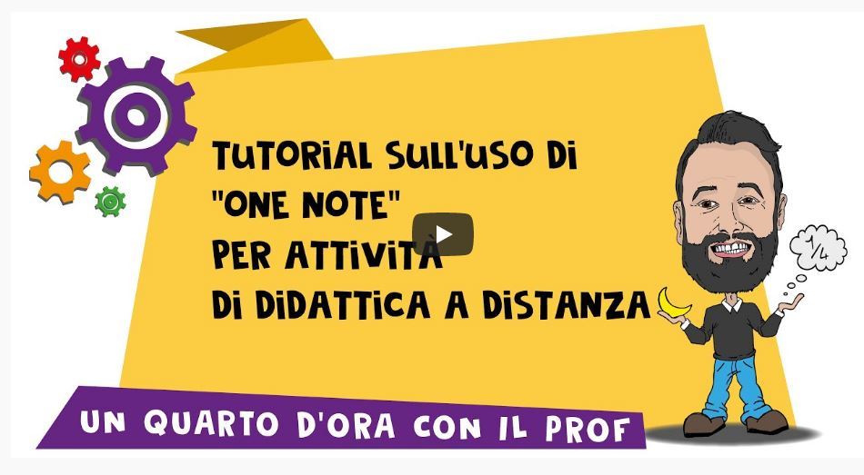 """TUTORIAL – Come usare """"One Note"""" per la didattica a distanza (lavagne e scrittura per video lezioni)"""