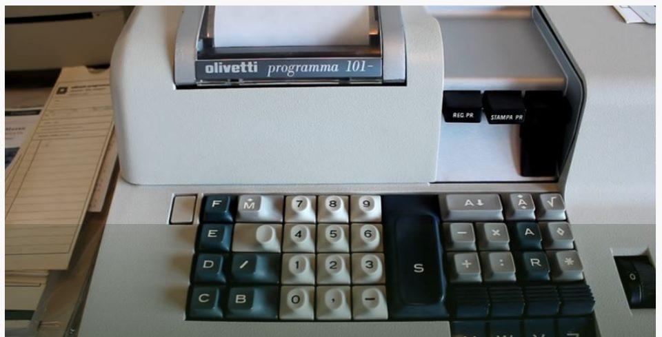 Olivetti P101: Breve esempio di programmazione